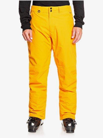 Clothing & Accessories Estate - Snow Pants for Men - Orange - Quiksilver