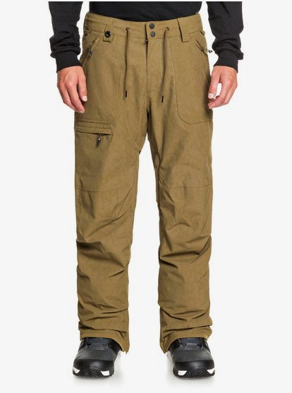 Clothing & Accessories Elmwood - Shell Snow Pants for Men - Brown - Quiksilver