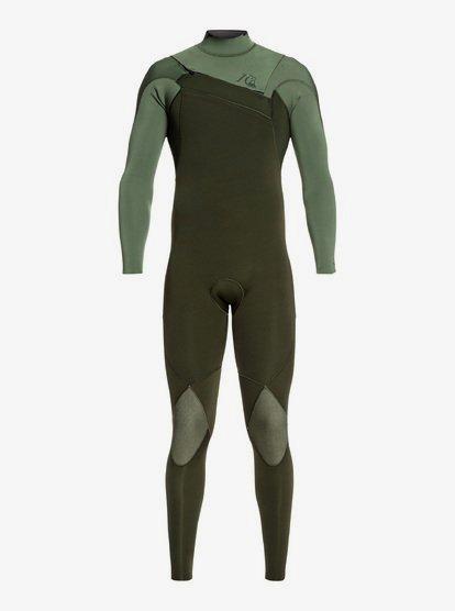 3/2mm Highline Limited Monochrome - Combinaison zip poitrine pour Homme - Marron - Quiksilver