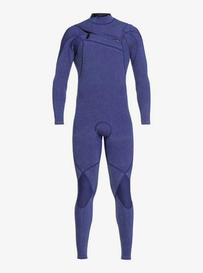 3/2mm Highline Limited Monochrome - Combinaison zip poitrine pour Homme - Bleu - Quiksilver