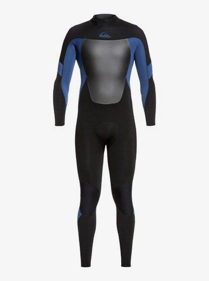 4/3mm Syncro - Combinaison GBS back zip pour Homme - Noir - Quiksilver