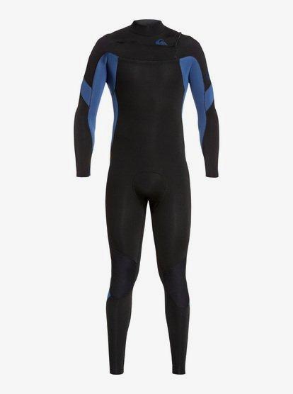 5/4/3mm Syncro - Combinaison GBS zip poitrine pour Homme - Noir - Quiksilver