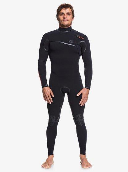 1mm Highline Pro Goofy - Zipperless Wetsuit for Men - Black - Quiksilver
