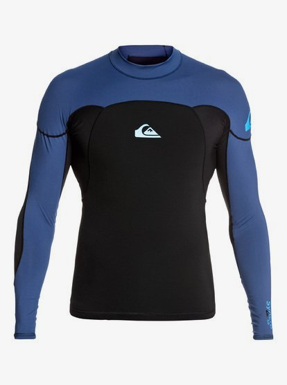 1mm Syncro - Long Sleeve Wetsuit Top for Men - Black - Quiksilver