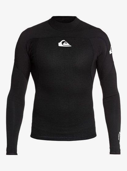 1.5mm Prologue - Long Sleeve Neoprene Surf Top for Men - Black - Quiksilver