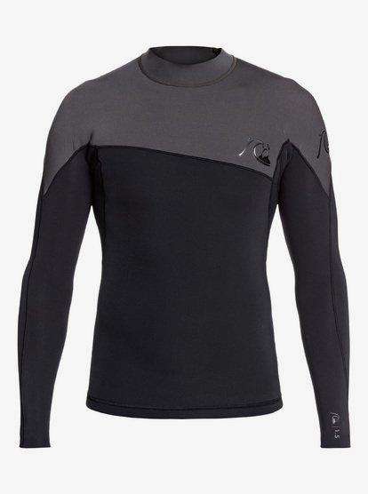 1.5mm Highline Limited - Long Sleeve Neoprene Surf Top for Men - Grey - Quiksilver