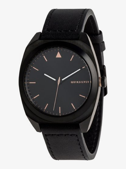 The PM Leather - Analogue Watch for Men - Multicolor - Quiksilver