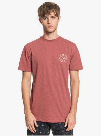 Rolling-On-TShirt-for-Men-Brown-Quiksilver