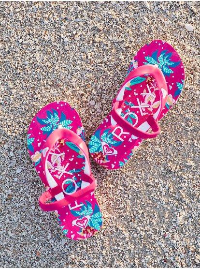 Tahiti VI - Tongs pour Bébés - Rose - Roxy