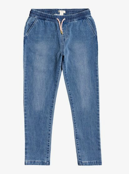 Traveling Alone - Jean Relaxed fit pour Fille 4-16 - Bleu - Roxy