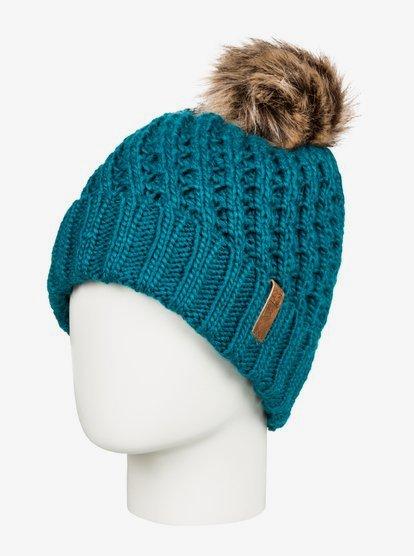 Blizzard - Bonnet à pompon - Bleu - Roxy