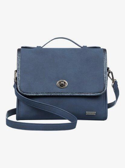 My Fashion Love - Bolsa de Colgar Grande para Mujer - Azul - Roxy