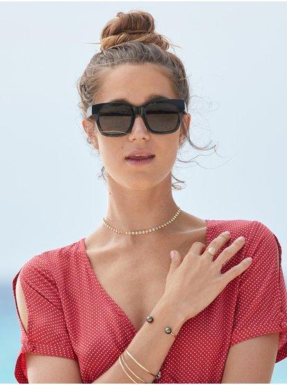 Nagara - Lunettes de soleil pour Femme - Noir - Roxy