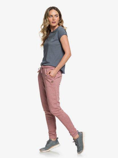 Glassy Waves - Pantalón de chándal para Mujer - Rosa - Roxy