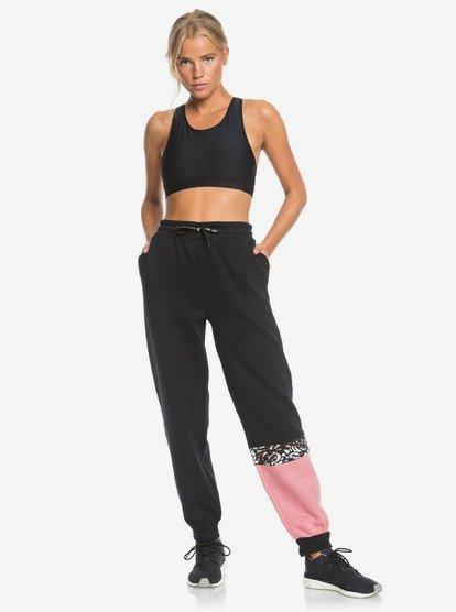 Modern Tale - Pantalon de jogging pour Femme - Noir - Roxy