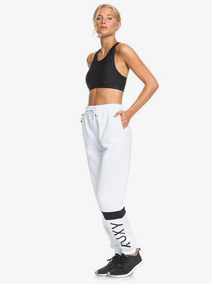 Modern Tale - Pantalon de jogging pour Femme - Blanc - Roxy