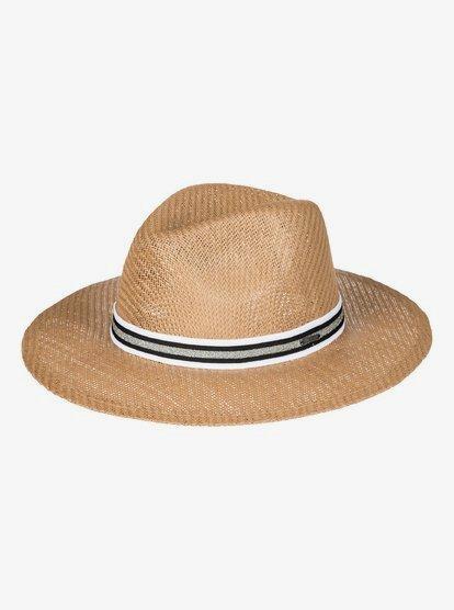 Here We Go - Sombrero Panamá de Paja para Mujer - Amarillo - Roxy