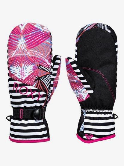 ROXY Jetty - Moufles de snowboard/ski pour Femme - Noir - Roxy