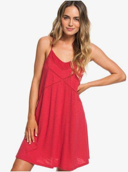 New Lease Of Life - Vestido de Playa con Tirantes para Mujer - Rojo - Roxy
