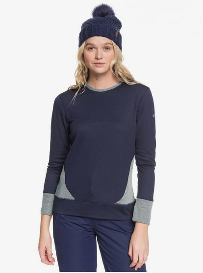 Daybreak-Technical-Long-Sleeve-Base-Layer-Top-for-Women-Blue-Roxy