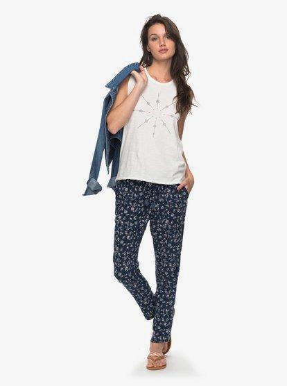 Bimini - Pantalón Playero para Mujer - Azul - Roxy