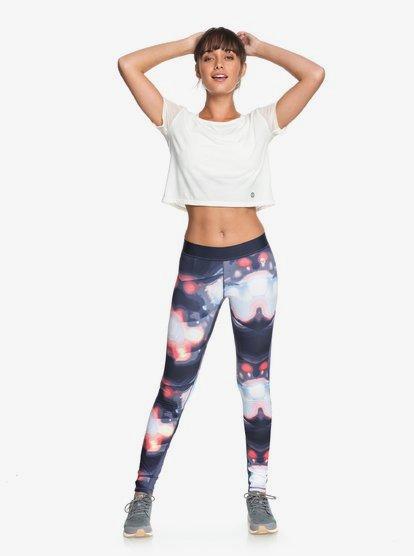 Snow Piercer - Leggings de diseño técnico para Mujer - Rosa - Roxy