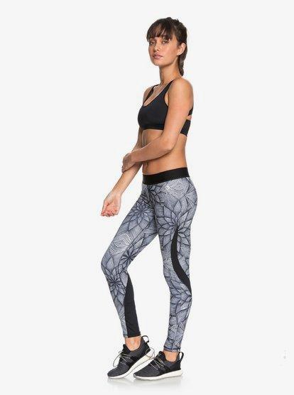 Snow Piercer - Leggings de diseño técnico para Mujer - Blanco - Roxy