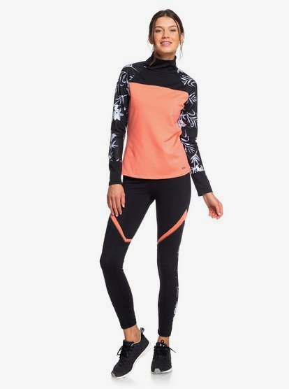 Lead By The Slopes - Legging technique pour Femme - Multicouleurs - Roxy