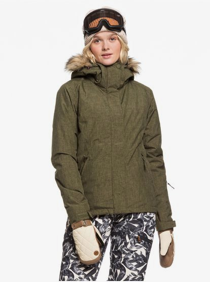 Jet Ski - Chaqueta para Nieve para Mujer - Marron - Roxy