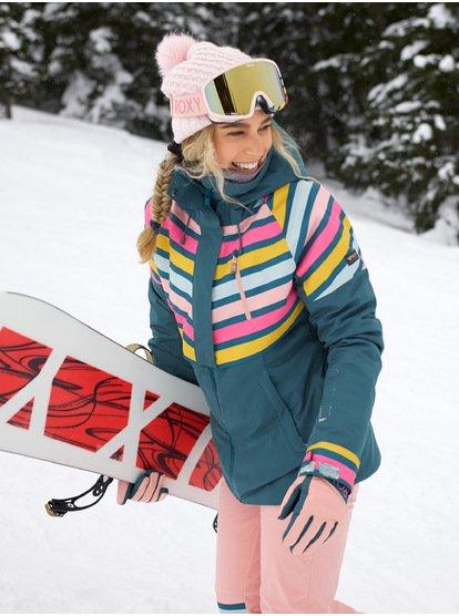 Frozen Flow - Chaqueta para Nieve para Mujer - Azul - Roxy