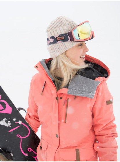 Andie SpinDye - Chaqueta para Nieve para Mujer - Rosa - Roxy