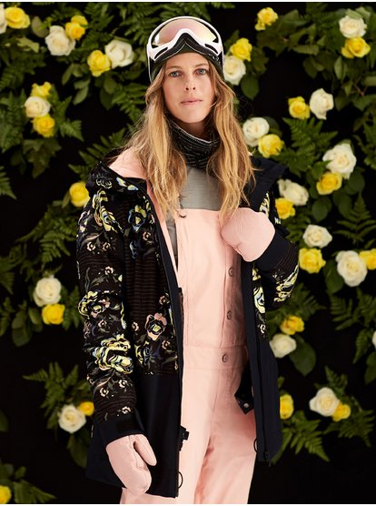 Torah Bright Vitaly - Pantalón de peto para nieve para Mujer - Rosa - Roxy