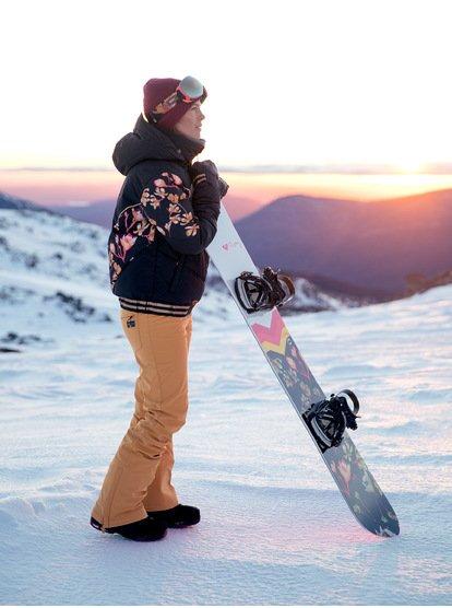 Torah Bright Summit - Pantalon de snow pour Femme - Jaune - Roxy