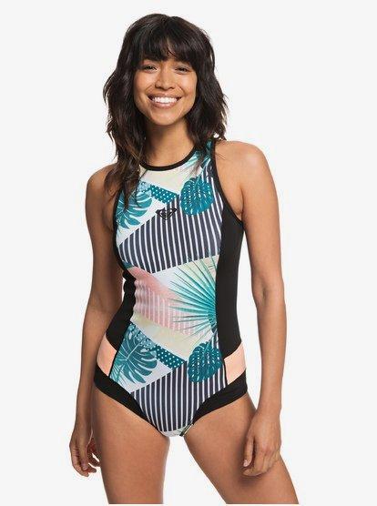1mm POP Surf - Short con Corte de Bikini y Cremallera Trasera para Mujer - Negro - Roxy