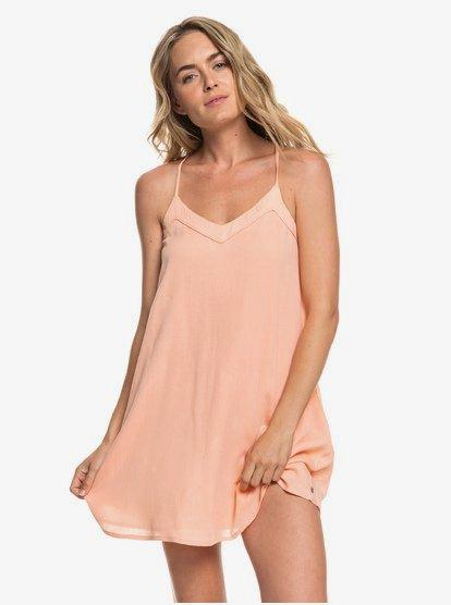 Off We Go - Vestido de Tiras para Mujer - Rosa - Roxy