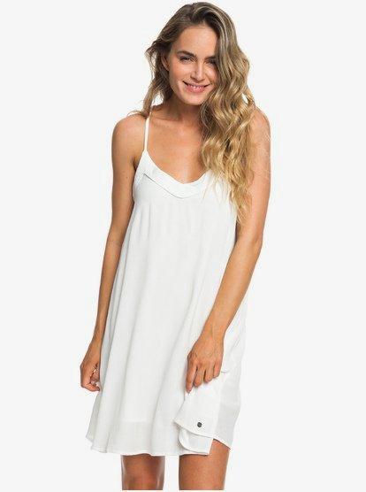 Off We Go - Vestido de Tiras para Mujer - Blanco - Roxy