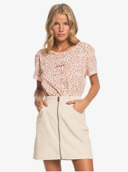 Major Change - Mini jupe en velours côtelé pour Femme - Beige - Roxy