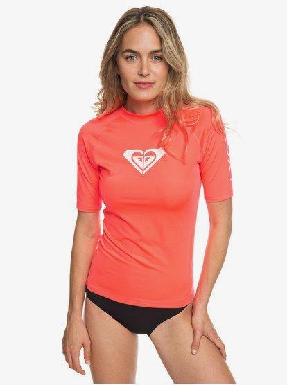 Whole Hearted - Licra de surf de maga corta UPF 50 para Mujer - Rosa - Roxy