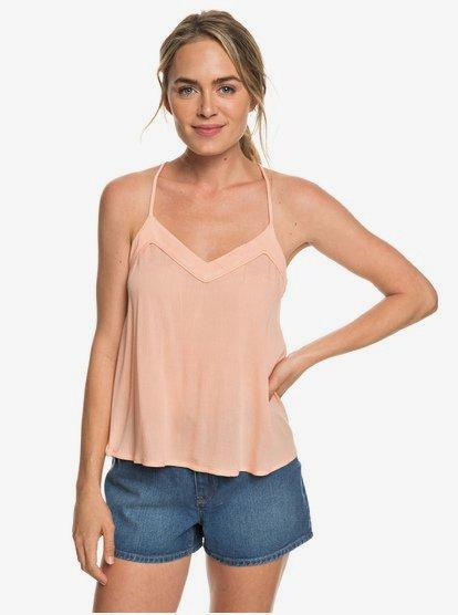 Off We Go - Camiseta de Tirantes Finos para Mujer - Rosa - Roxy