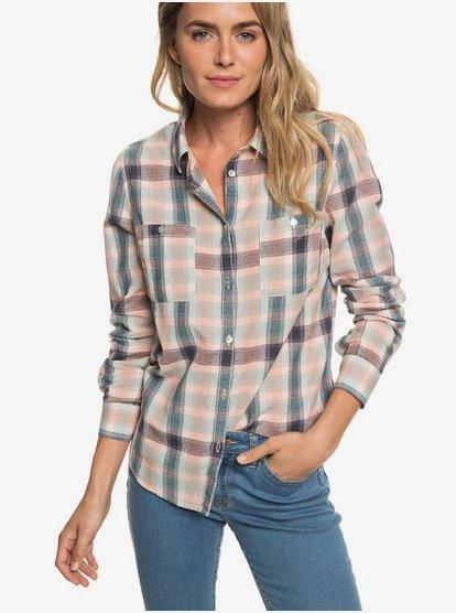 Setai Miami - Camisa de Manga Larga para Mujer - Rosa - Roxy