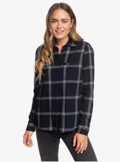 Campay - Chemise manches longues pour Femme - Noir - Roxy