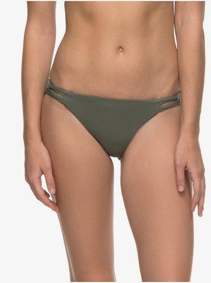 Strappy Love - Parte de abajo de bikini años 70 para Mujer - Blanco - Roxy