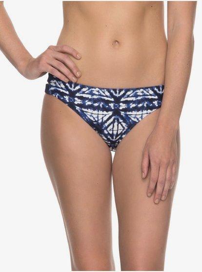 ROXY Fitness - Braguita de Bikini estilo años 70 para Mujer - Azul - Roxy