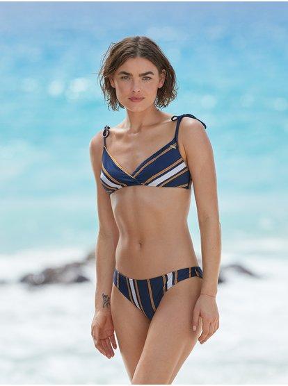 Romantic Senses - Braguita de Bikini Mini para Mujer - Azul - Roxy