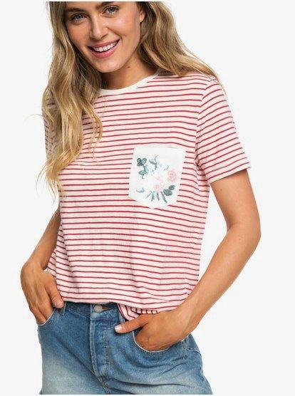 Be My Lover - Camiseta con Bolsillo para Mujer - Rojo - Roxy