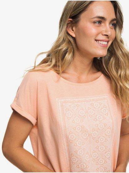 Summertime Happiness - Camiseta para Mujer - Rosa - Roxy