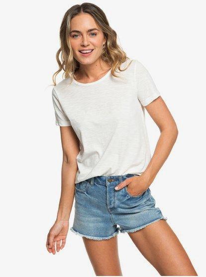 Red Sunset A - Camiseta para Mujer - Blanco - Roxy