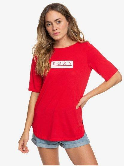 Brooklyn Baby B - Camiseta Deportiva para Mujer - Rosa - Roxy