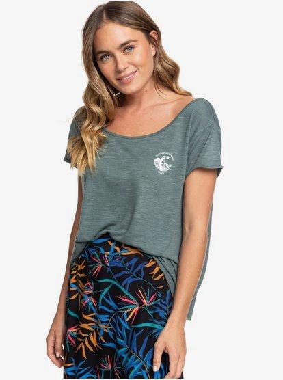 Havana Chill B - T-shirt pour Femme - Bleu - Roxy