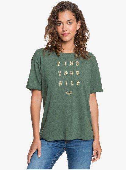Ready Or Not Ready - T-shirt pour Femme - Vert - Roxy